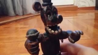 фигурка фантом фредди из пластилина из игры пять ночей с фредди