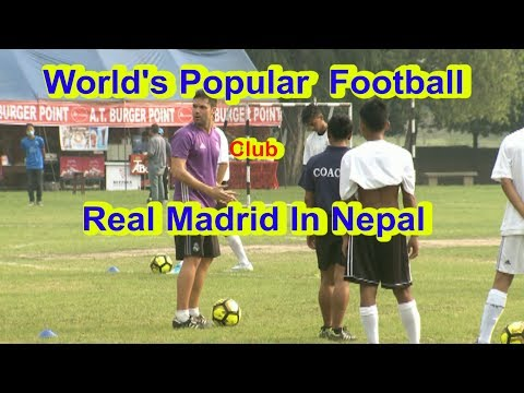 Real Madrid Special Football Training In Nepal Part -01 || DishHome Sports