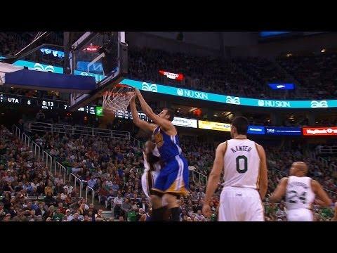 Warriors Beat Jazz 95-90 in Utah