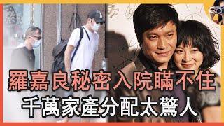 58歲羅嘉良暴瘦30斤認不出,秘密入院內幕終於瞞不住,千萬家產分配太驚人#羅嘉良#TVB#娛記太太