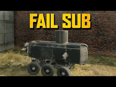 THE STEALTH SUBMARINE OF FAIL (Crossout Gameplay)