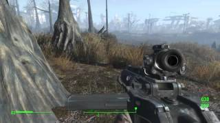 Fallout 4 - 2560x1440 60fps All settings on ultra except god rays(low)