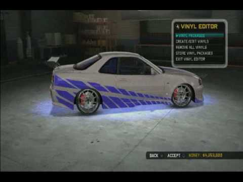 2fast 2furious ブライアン仕様 Gt R In Midnight Club Los Angeles