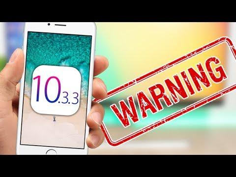 iOS 10.3.3 Has Some NASTY Surprises !!!