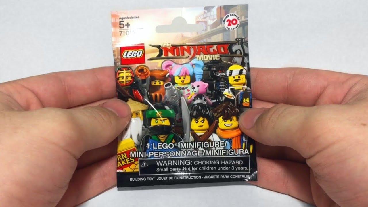 LEGO Ninjago Movie Minifigures Blind Bags ~ 14 Pack ...