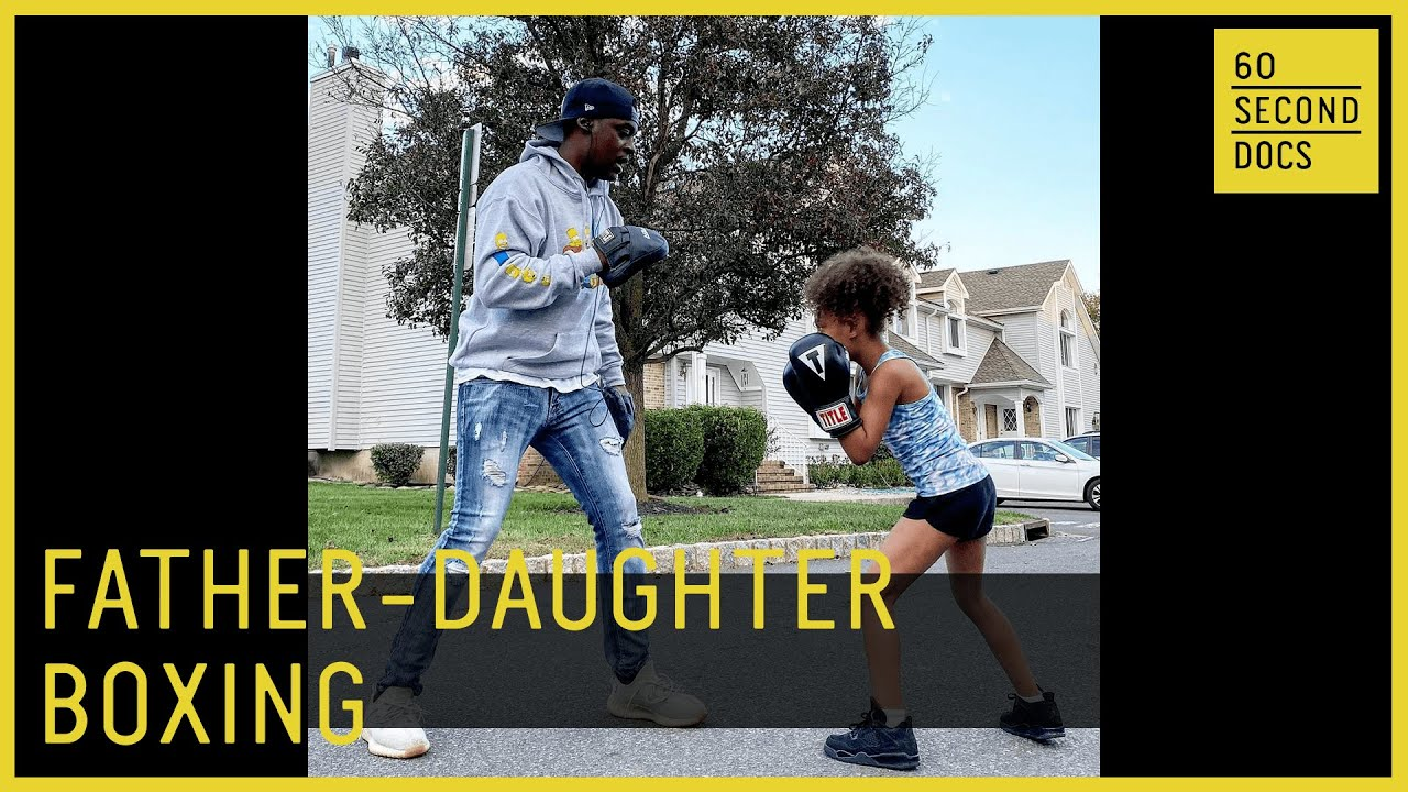 Daddy-Daughter Boxing