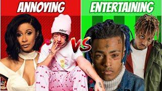 ANNOYING Rap Voices vs ENTERTAINING Rap Voices! (2020)