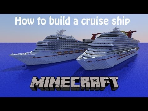 How To Build A Cruise Ship In Minecraft Part 7 Engine