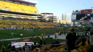 steelers vs colts before game 2012