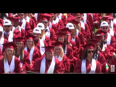 2017 CWU Commencement PM