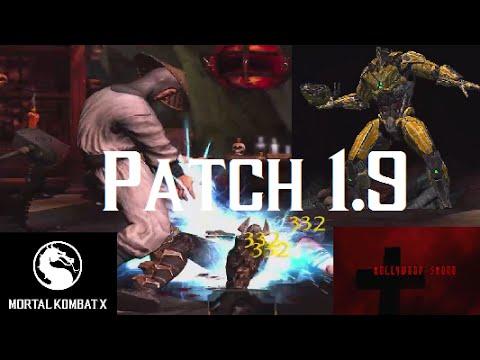 Mortal Kombat X iOS - Patch 1.9 and Diamond Cards plus Cyrax Triborg