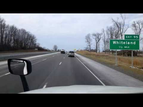 Bigrigtravels Live! - Franklin to Gary, Indiana - Interstate 65 - January 30, 2017