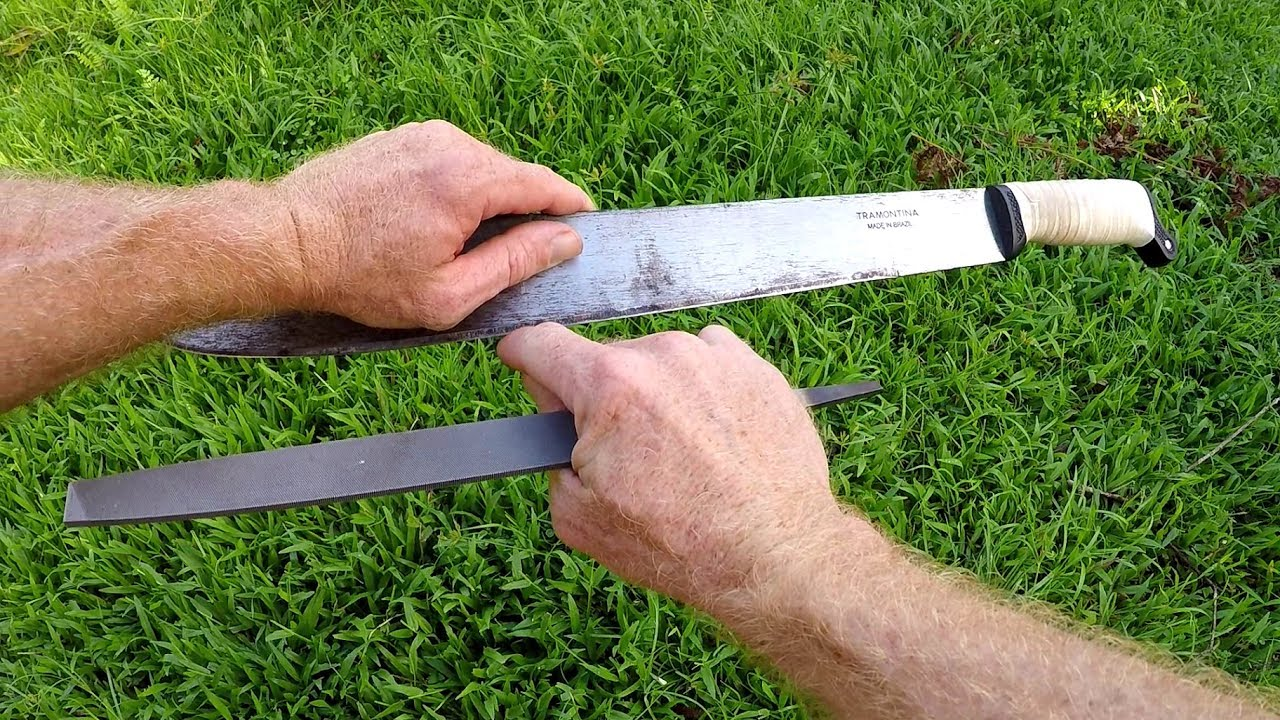 How to Sharpen a Machete: 5 Most Effective Ways - JUST MACHETE
