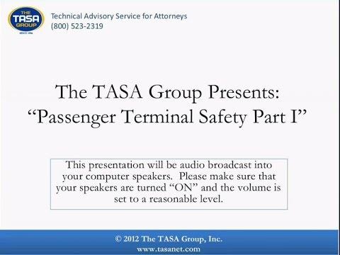 Passenger Terminal Safety - Part 1