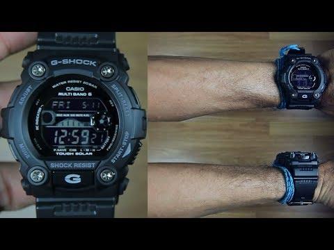 Casio G Shock Multiband Gw 7900b 1 Tough Solar Unboxing Youtube