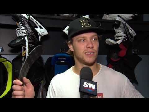 David Pastrnak might have the worst tape job in the NHL