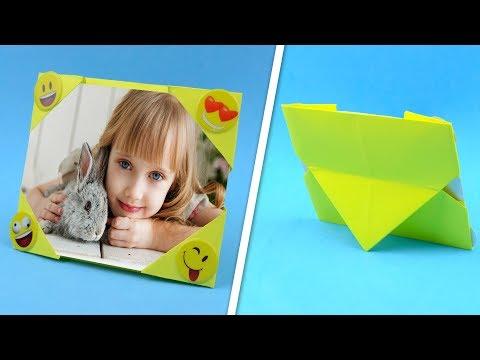 Рамки из бумаги рамки для фото своими руками