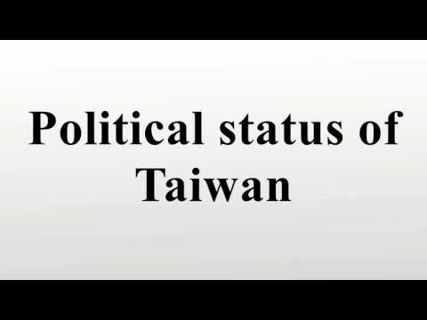 Political status of Taiwan