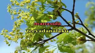 Telugu Karaoke Chigurakulalo Chilakamma Donga Ramudu 1955