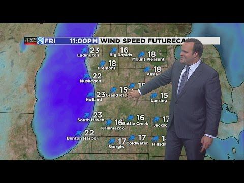 Storm Team 8 Forecast: 6 p.m. 111816