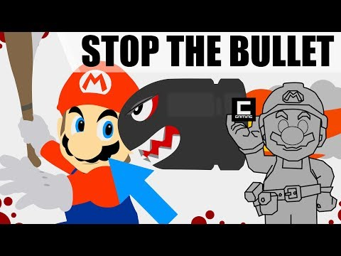 """How to Create a """"Don't Let The Cannonball Escape"""" Level in Super Mario Maker!"""