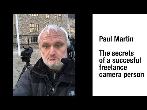 Secrets of a successful freelance news cameraman