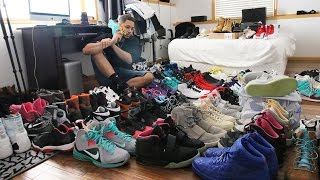 MY ENTIRE SNEAKER COLLECTION VLOG!!