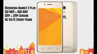 Micromax Bharat 2 plus with 1gb ram  best phone under 4000 rupees Hindi review