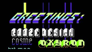 Nothing but PETSCII Commodore 64 demo