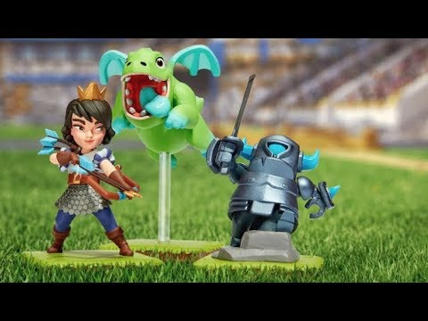 Clash Royale: Introducing Figures 2.0
