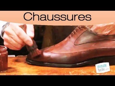 Comment cirer des chaussures en cuir youtube - Comment cirer des chaussures ...