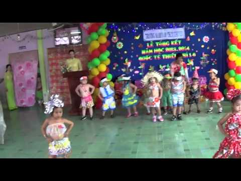 Biểu Diễn Thời Trang Trường Mầm Non Chim Khuyên