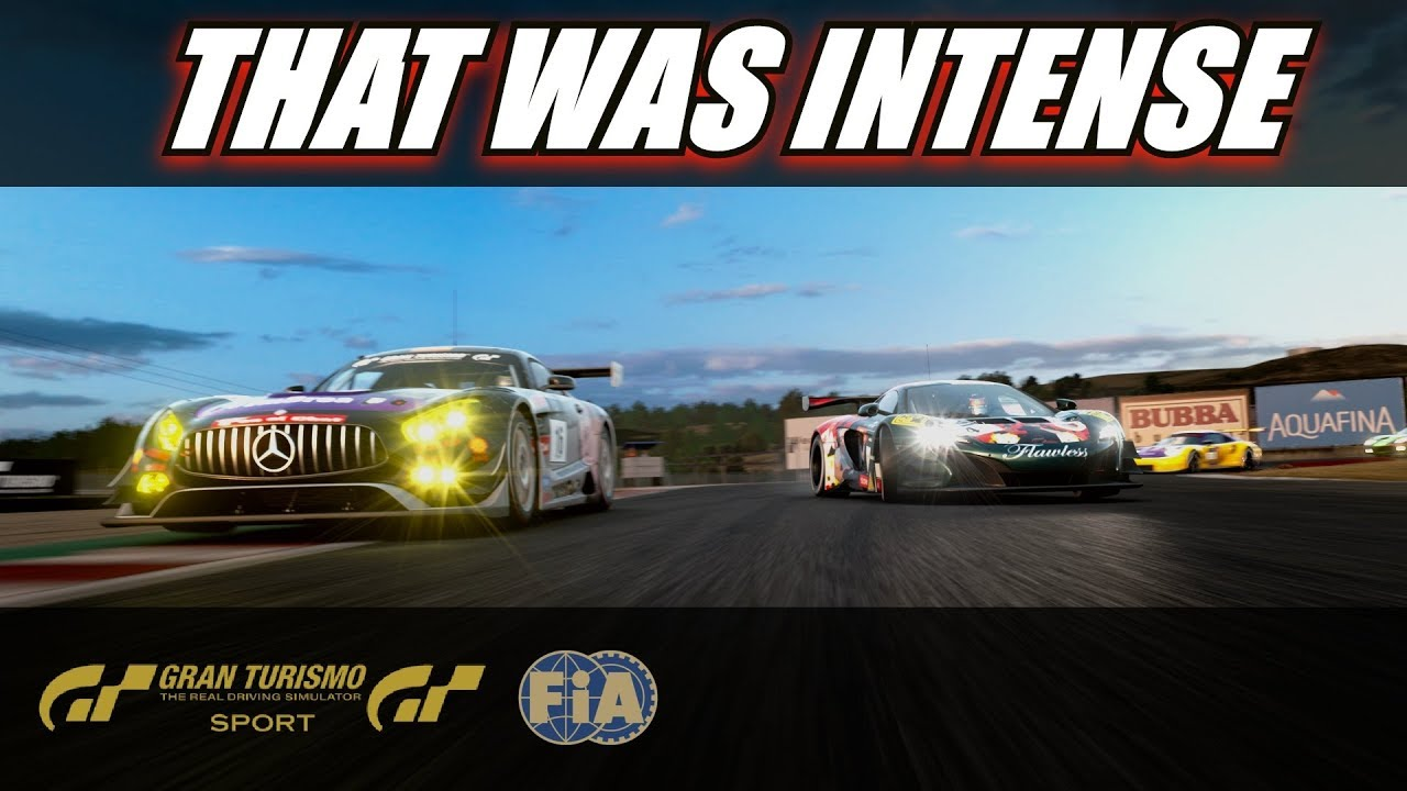 Gran Turismo Sport Fia Final Highlights