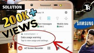 Remove Data Usage Warning From Samsung In Hindi thumbnail