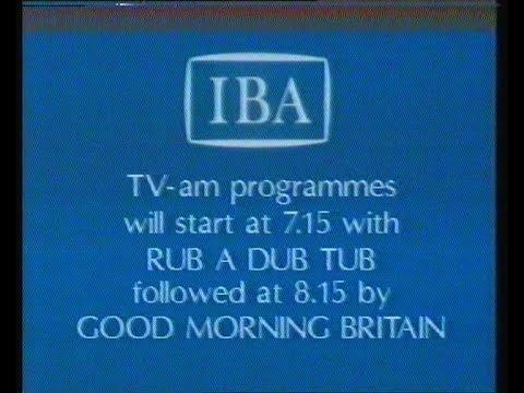 TVam RubaDubTub  1983