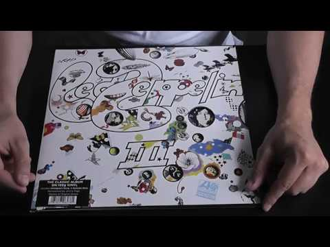 Led Zeppelin III распаковка и обзор виниловой пластинки