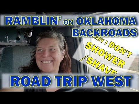 Cross Country Road Trip: Great Plains Views and Why I Don't Shower or Shave Anymore