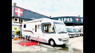 Camping-car de luxe Euramobile I 850 // Alpes Evasion