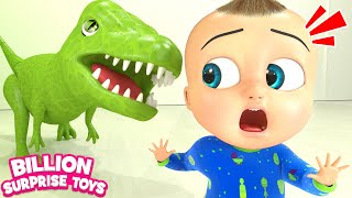 Types of Dinosaurs Song | Kids Songs | Billion Surprise Toys