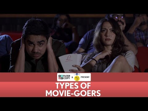 FilterCopy | Types Of Movie-Goers | Ft. Anupama Chopra, Hira, Banerjee, Ashish Verma, Akash Deep