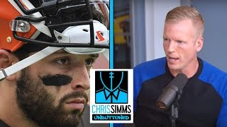 Why Baker Mayfield's criticism of Daniel Jones is wrong | Chris Simms Unbuttoned | NBC Sports
