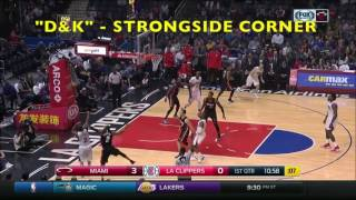 Pick and Roll Passing