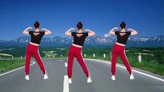 這支健身操步伐簡單易學,音樂舒心好聽,大爺大媽的最愛! 【華美舞動廣場舞】