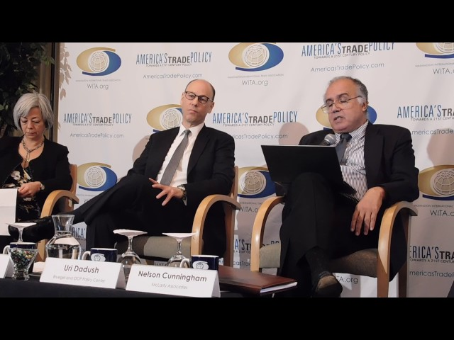 2/9/17 WITA Event: NAFTA 2.0? Panel 1: Uri Dadush
