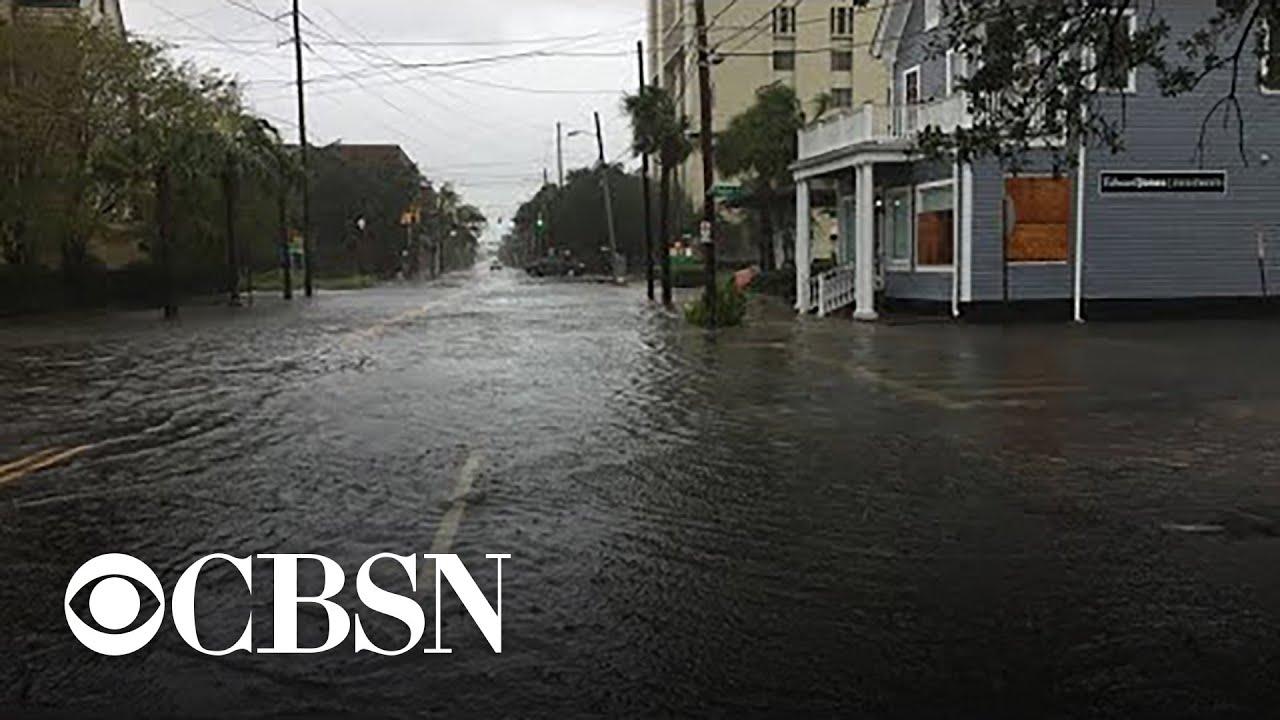 Charleston South Carolina Surveys Damage From Hurricane