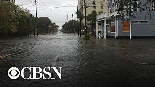 Charleston, South Carolina surveys damage from Hurricane Dorian