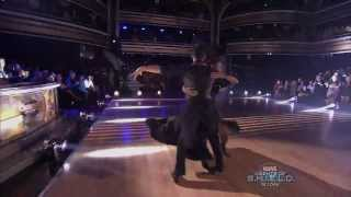 "Christina Milian & Mark Ballas dancing to Lady Gaga's ""Applause"" on Dancing With The Stars"