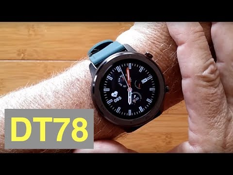 dtno.1-dt78-ip68-waterproof-full-touch-blood-pressure-health-fitness-smartwatch:-unboxing-&-1st-look