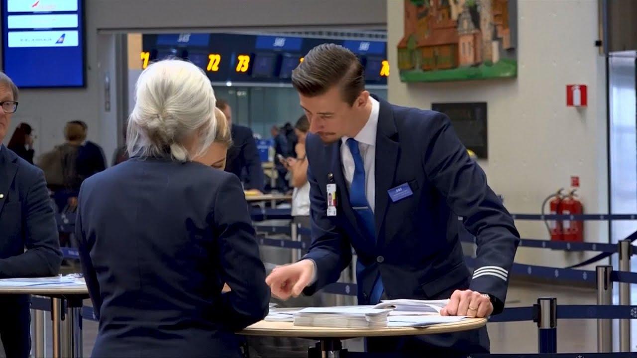 「北歐航空」機師大罷工 影響28萬旅客 20190429公視晚間新聞 - YouTube