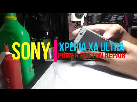 SONY Xperia XA Ultra | Broken Power Button Repair Guide